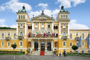 Nove Lazne- один из первых курортных домов Марианских лазней, безусловно относящийся к лучшим строениям городa в начале XIX столетия.