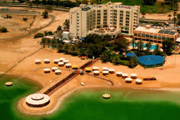 """Гостиница """"Lot SPA Dead Sea Hotel"""" - находится в центре курортной зоны Эйн-Бокек, на берегу Мертвого моря"""